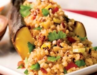 Caribbean Blend Quinoa Stuffed Plantain
