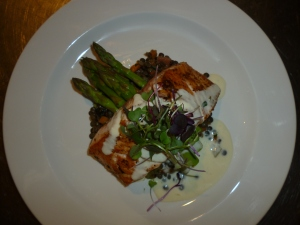 Salmon and Asparagus